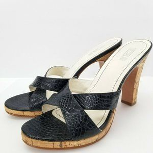 Andrew Stevens Ginelle Open Toe Leather Sandals
